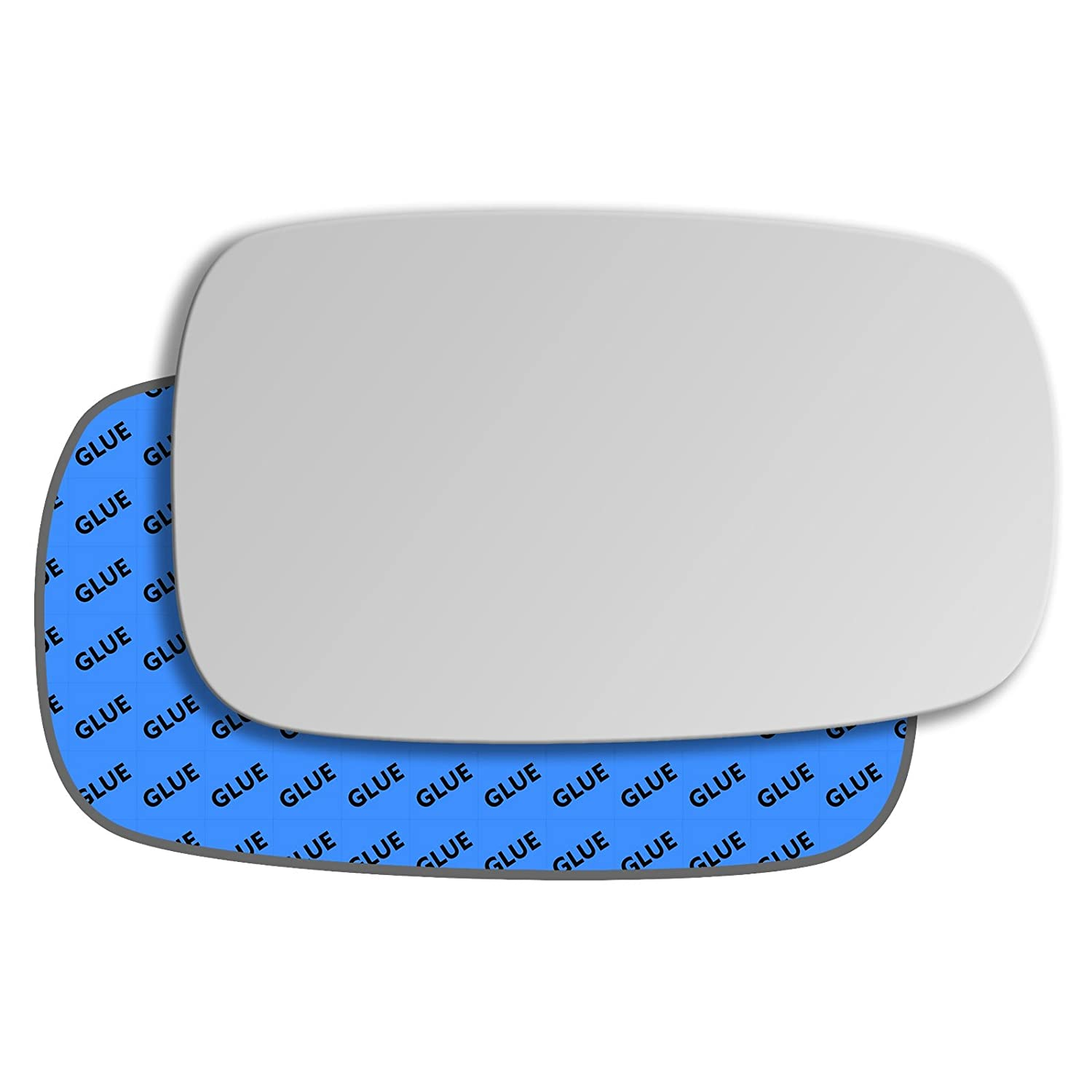 Hightecpl 28RS Right Driver Off Side Convex Door Wing Mirror Glass Replacement Channel Autoparts Limited