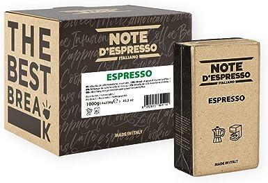 Note DEspresso - Café expreso envasado al vacío, 250 g (caja con 4 paquetes): Amazon.es: Alimentación y bebidas