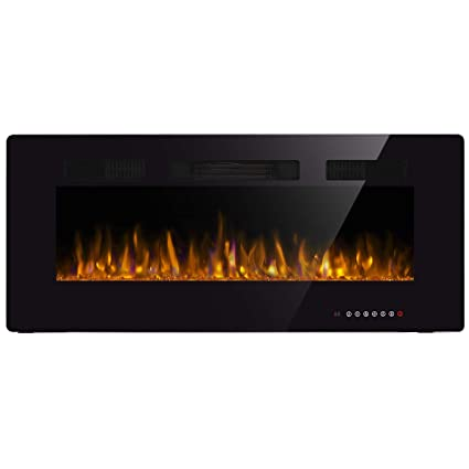 Amazon Com Jamfly Recessed Electric Fireplace 42 In Wall Mounted