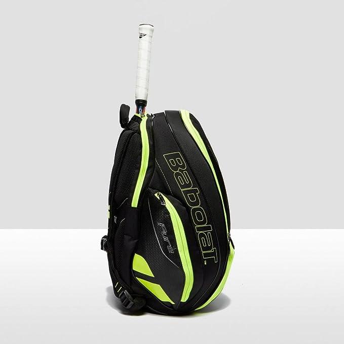 Babolat Pure Tennis Backpack Accesorios para tenis Mochilas Negro / Amarillo, Natural, Talla Única: Amazon.es: Deportes y aire libre