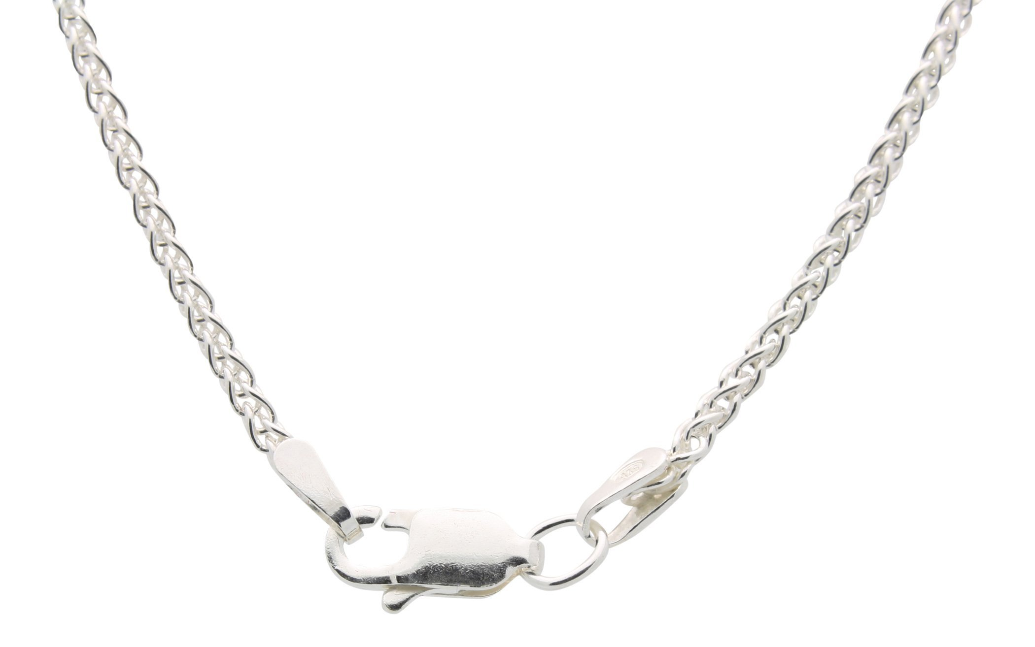 Diamond Heart Cross Necklace for Women - 925 Sterling Silver by All Patron Saints (Image #4)