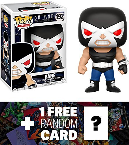 Funko Bane POP! Heroes x Batman The Animated Series Vinyl Figure + 1 Free Official DC Trading Card Bundle (13644) ()