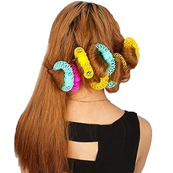 Amazon Women Donut Shape Hair Salon Accessory Diy Hair Styling