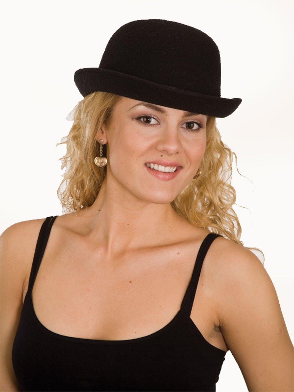 J23735 (59cm) Deluxe Felt Bowler Hat New