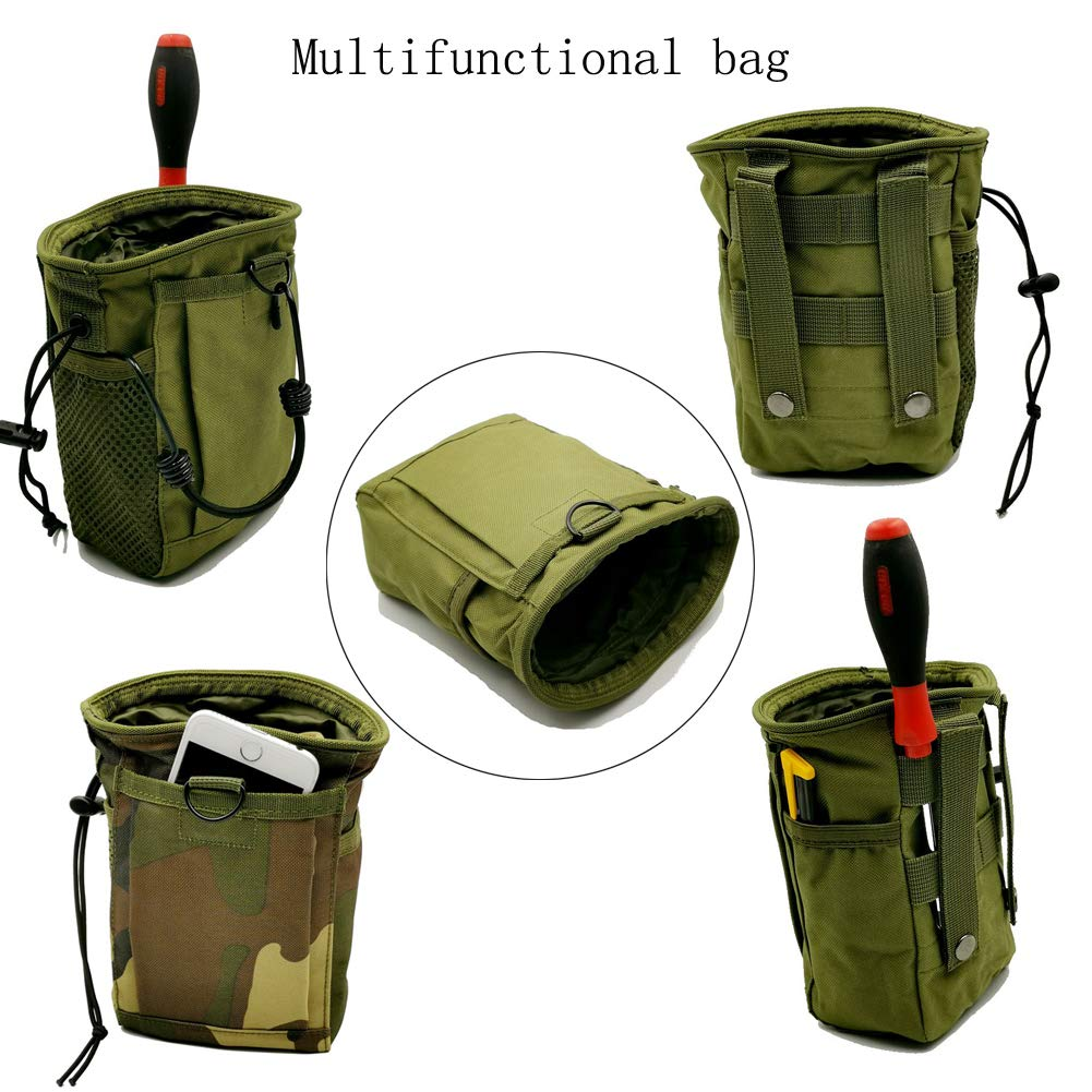 Minelab Finds Accessory Samxu Metal Detecting Finds Waist Pouch Portable Multifunctional Bag for Garrett Green