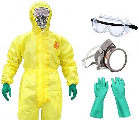 MXBAOHENG Pro Safety Clothing Chemicals - Ropa de Protección ...