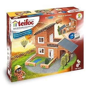 Teifoc Piccolo Muratore Villa con Garage, TEI 4700, T4700 61wESsiA9JL. SS300