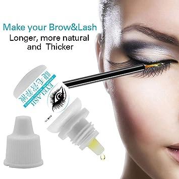 9e1dcd4468b Amazon.com : ZBmiluddeer Eyelash Growth Treatment Liquid Enhancer Lashes  Long Thick Curling Essence 5ml : Beauty