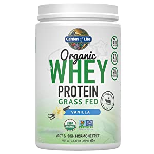 Garden of Life Organic Whey Protein Powder