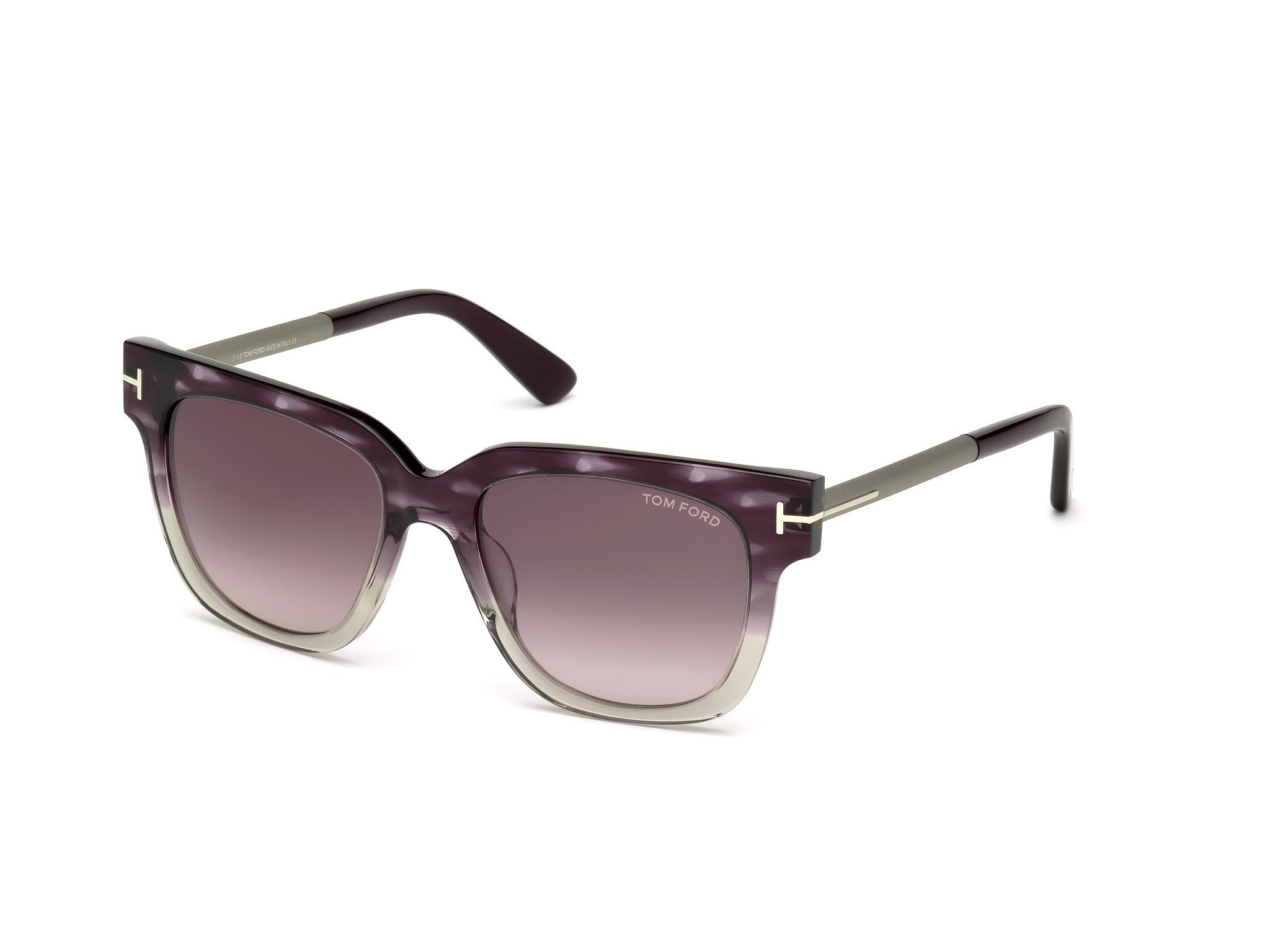 Tom Ford Sunglasses 436F TF436 TF436F Tracy 54mm-18MM-140MM Asian Fit (83T VIOLET OTHER)