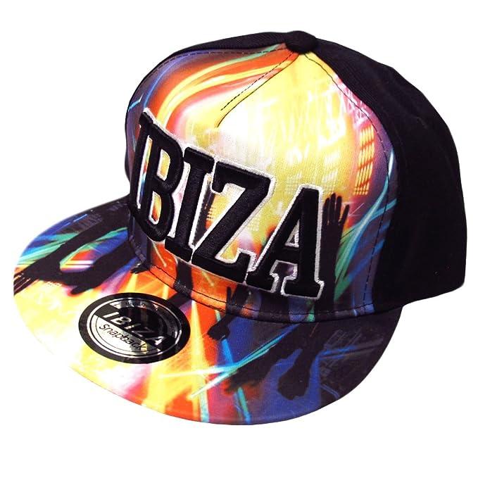 Love Ibiza: Levanta las Manos Gorra Snapback - Negro, Talla única ...