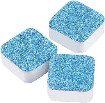 BigbigHouse Potente limpiador de lavadora, 3 tabletas: Amazon.es ...