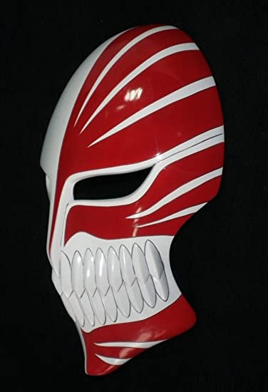 Amazon.com: Cosplaywho Bleach Ichigo Hollow Mask Deluxe Version: Health & Personal Care