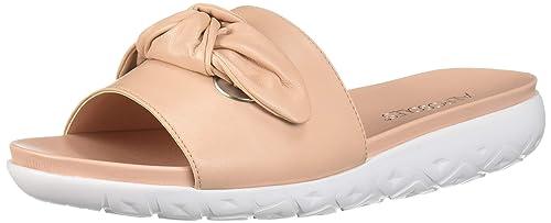 Manicure Flat Sandal, Pink