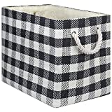 DII Oversize Woven Paper Storage Basket or