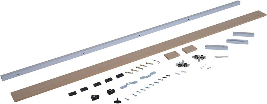 Homcom aluminio puerta corredera unidad Sistema – Herraje para ...