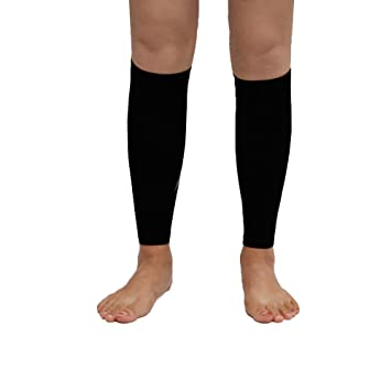 3115bacead Compression Calf Sleeve(1 Pair) for Men Women- Instant Shin Splint Support,