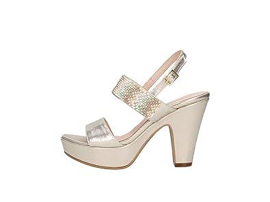 Martina B Mbss18-371-c8 Sandale Femme noir noir - Chaussures Sandale Femme