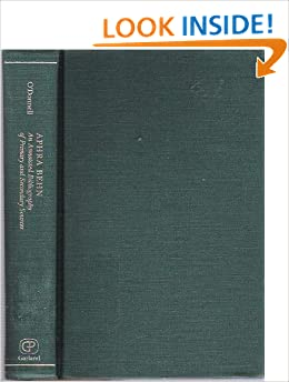 aphra behn an annotated bibliography of primary and secondary sources