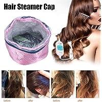 Bulary Hair Steamer Cap Protection contre la surchauffe amovible Capuchon de chauffage électrique Outil de soin des cheveux