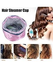 Bulary Hair Steamer Cap Desmontable Protección contra sobrecalentamiento Tapa de calefacción eléctrica Cuidado del cabello Herramienta