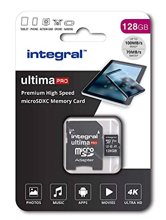 Amazon.com: Integral 128 GB Premium Alta Velocidad Micro SD ...