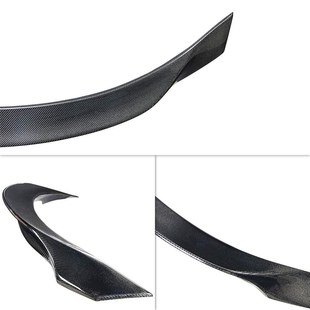 AeroBon Real Carbon Fiber Rear Spoiler Compatible with 13-20 Ghibli Sedan M157 A Style