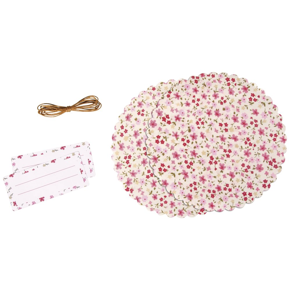 RAYHER HOBBY RAYHER 68003000Decorative Set for Jam Jar Flowers–Individually Packed–1Set 68-003-000