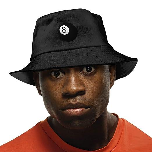 142037f33f7 Unisex Magic 8-Ball Washed Cotton Bucket Hat Original Summer Boonie Cap  Fishing Hats at Amazon Men s Clothing store