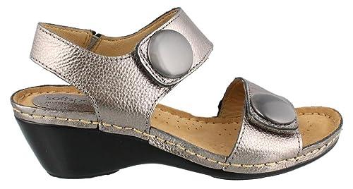 Women's Soft Spots, Pamela mid heel Sandals ANTHRACITE ...