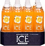 Sparkling Ice Orange Mango Flavour Sparkling Water, 500 ml, Pack of 12