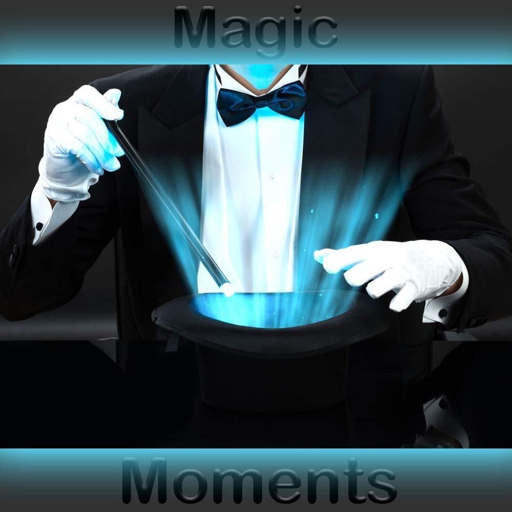 German Trendseller/® Zauberer ┃ 100/% Polyester ┃ 3 Paar Handschuhe Wei/ß 3 x Wei/ße Handschuhe Deluxe ┃ Pantomime ┃ Nikolaus Weihnachtsmann