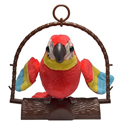 IncredibleGifts Repeat Talking Parrot Toy: Toys & Games