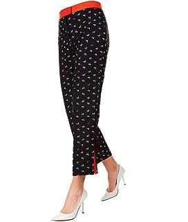 Pinko Femme 1B13QQ4575Z99 Noir Polyester Pantalon:
