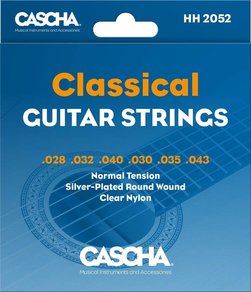 Cascha Hh 2052 Cuerdas De Guitarra Premium Para Guitarras Clásicas