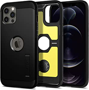 Spigen Tough Armor Designed for Apple iPhone 12 Pro Max Case (2020) - Black