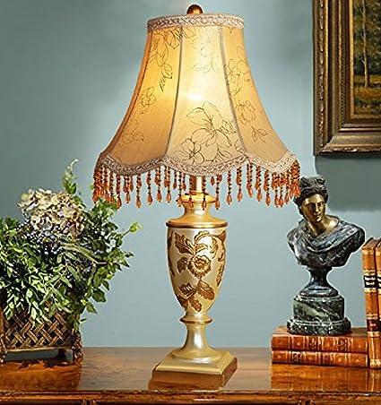 lámpara de cabecera del dormitorio de la lámpara de mesa de estilo ...