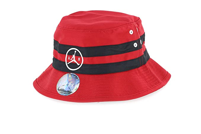 3bb967535df ... white l xl tlw960019176 hot jordan jumpman air striped bucket hat red  black large x large 5f379 0dbef ...