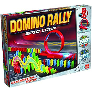 Goliath Domino Rally Epic Loop - Dominoes for Kids - STEM-Based Domino Set for Kids