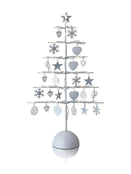 Weihnachtsbaum Metall Spirale.Teelichthalter Weihnachtsbaum Tannenbaum Stern Spirale 45