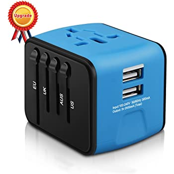 Amazon Com Travel Adapter Worldwide All In One Universal