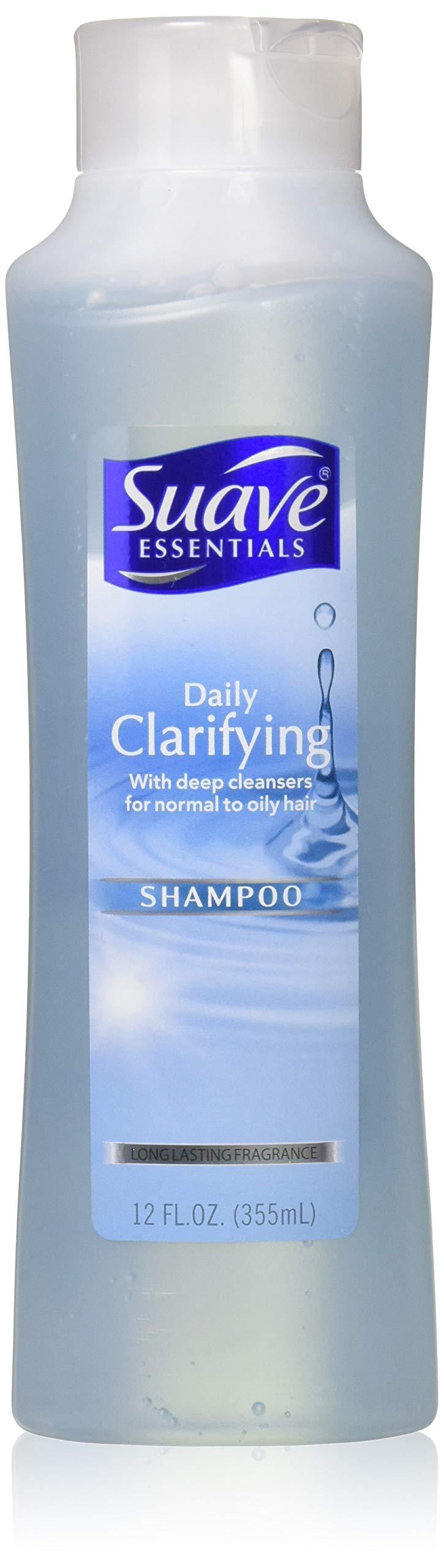 Suave Naturals Daily Clarifying Shampoo 12 oz