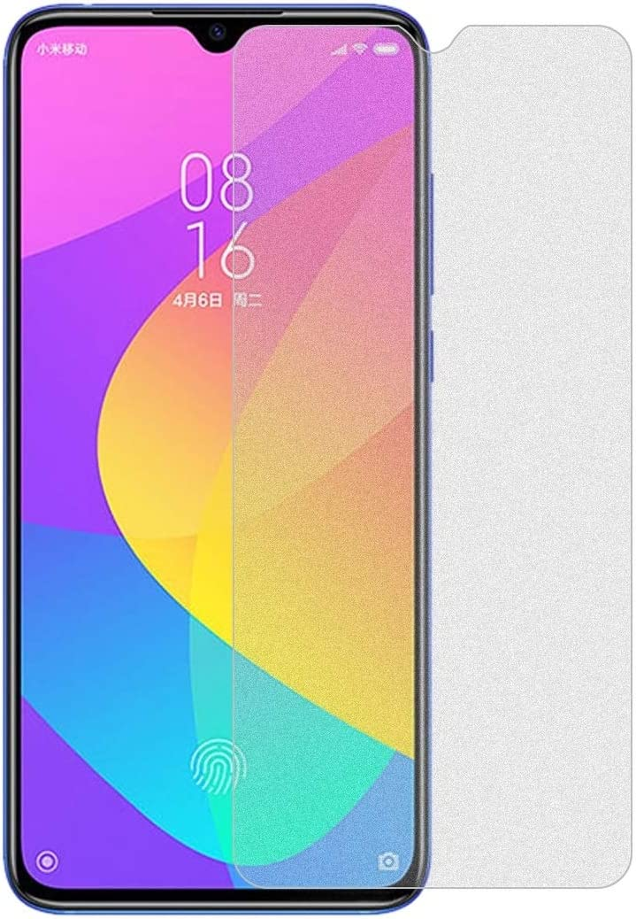 SHIFENX 50PCS Non-Full Matte Frosted Tempered Glass Film for Xiaomi Mi CC9 No Retail Package Anti-Thin
