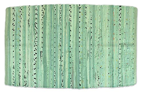 Home Essentials DII CAMZ35010 Rag Rug 20x31.5-Inches, Mint