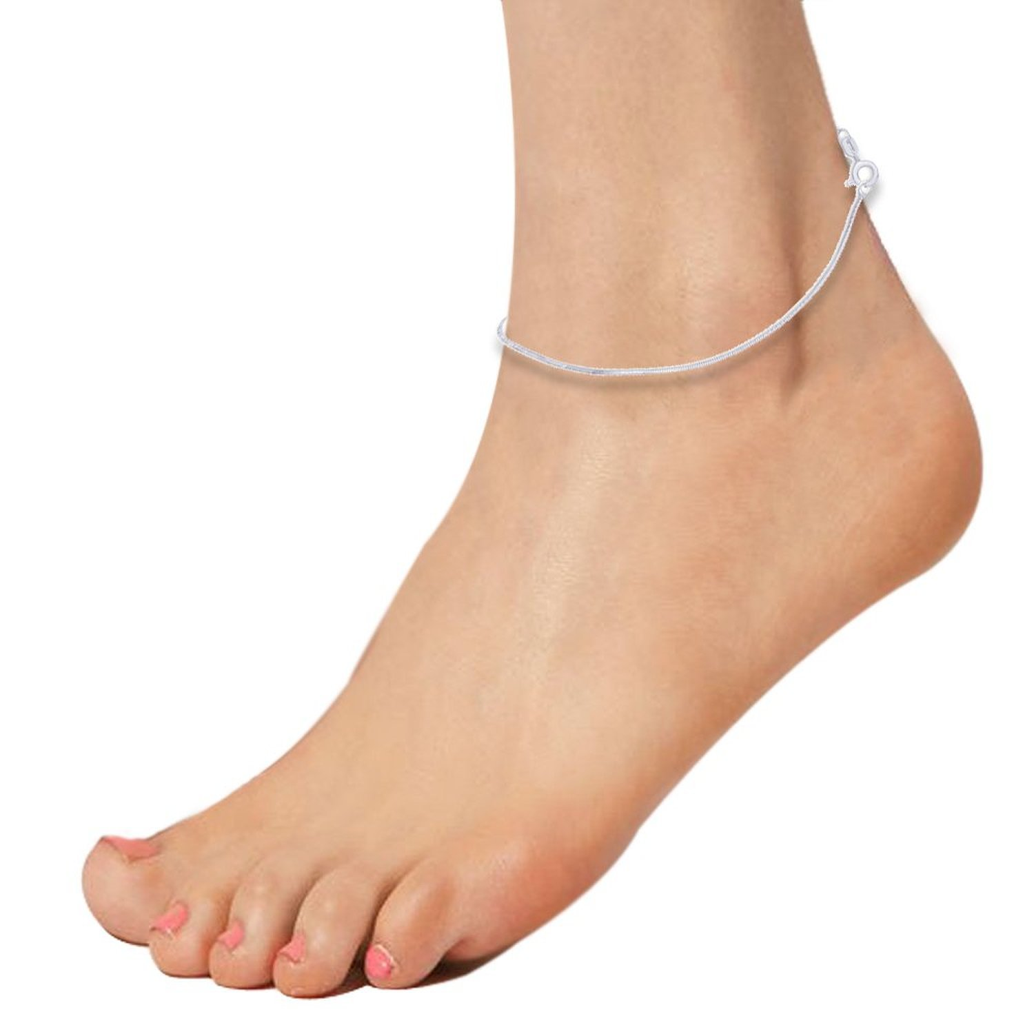 rhodium tag in fadkart women anklet archives designer for silver plated product