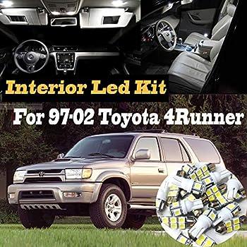 Amazon Com 10pc Super White 6000k Interior Led Light Kit