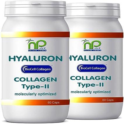 Biocell® 120 Collagen II de ácido hialurónico - cápsulas fórmula altamente concentradas 1000 mg/