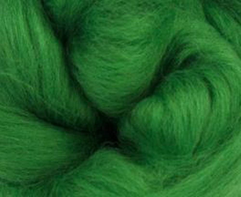 Candy Floss Corriedale Wool Roving One Ounce Assorted Colors for Felting and Spinning NZ