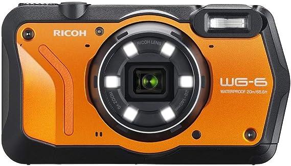 Ricoh Wg 6 Orange Wasserdichte Kamera Hochauflösende Kamera