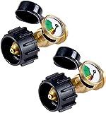 GasSaf Propane Tank Gas Gauge Leak Detector - Universal for QCC1